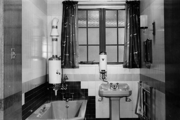 bathroom display small
